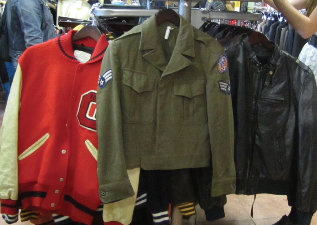 used jackets, secondhand jackets