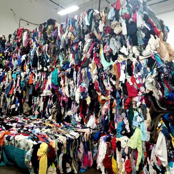 Wholesale Mixed Rags Used Clothing